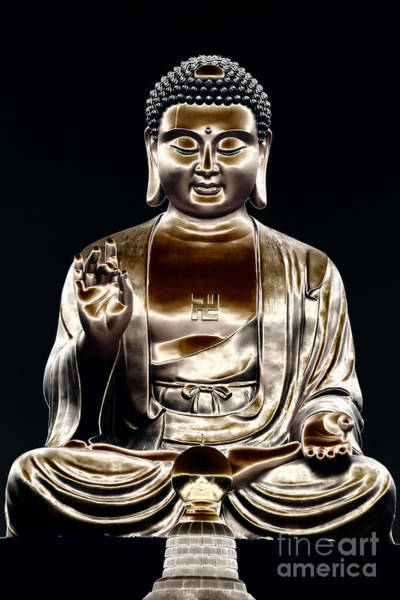 Photograph - Buddha by Yew Kwang