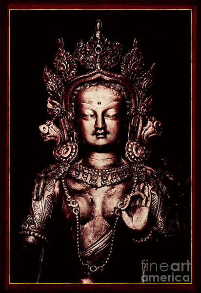 Buddha Statue Photograph - Buddhist Tara Deity by Tim Gainey