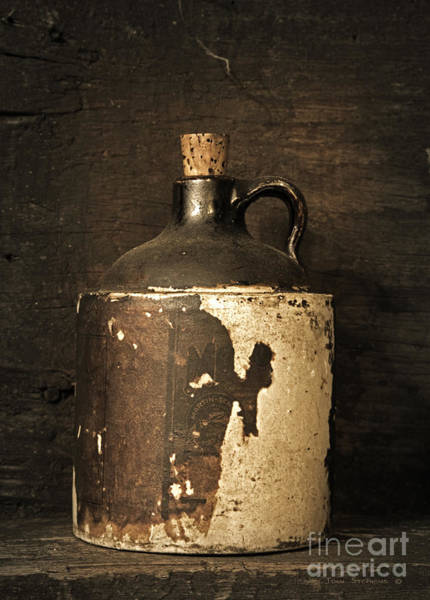 Glazed Wall Art - Photograph - Buddy Bear's Little Brown Jug by John Stephens