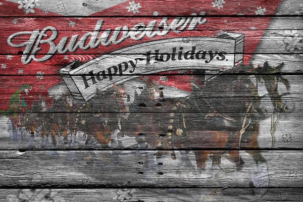 Pilsner Wall Art - Photograph - Budweiser by Joe Hamilton