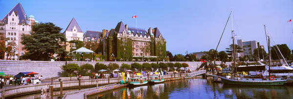 Victoria Harbor Wall Art - Photograph - Buildings At The Waterfront, Empress by Panoramic Images