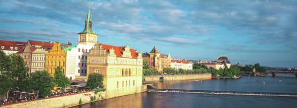 Wall Art - Photograph - Buildings At The Waterfront, Prague by Panoramic Images