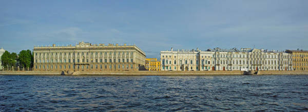 Hermitage Photograph - Buildings At The Waterfront, Winter by Panoramic Images
