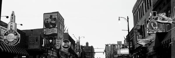 Wall Art - Photograph - Buildings In A City At Dusk, Beale by Panoramic Images