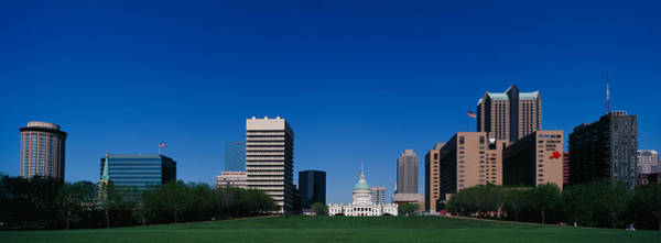 Wall Art - Photograph - Buildings In A City, St Louis by Panoramic Images
