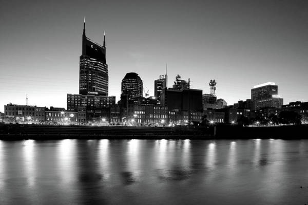 Cumberland Photograph - Buildings Lit Up At Dusk by Panoramic Images