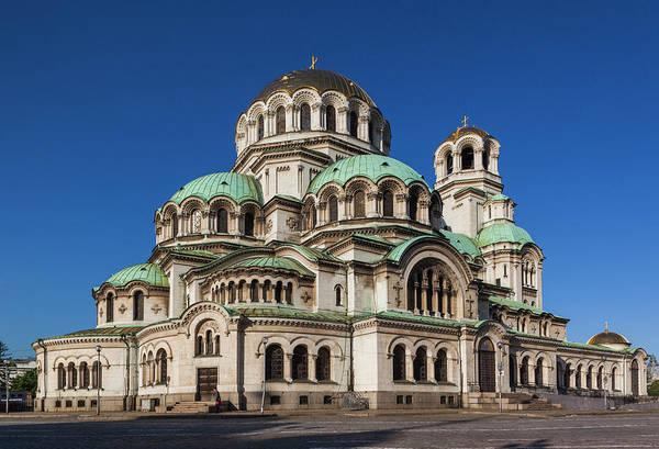 European Union Photograph - Bulgaria, Sofia, Ploshtad Alexander by Walter Bibikow