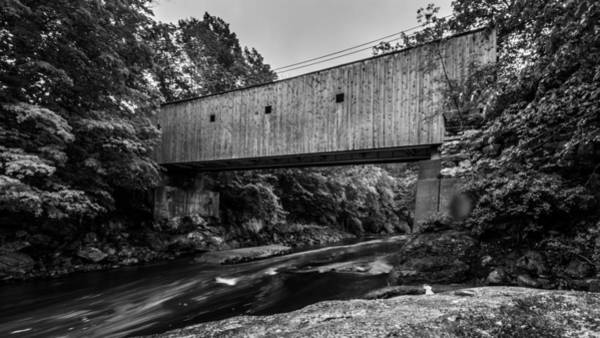 Photograph - Bull's Bridge by Randy Scherkenbach