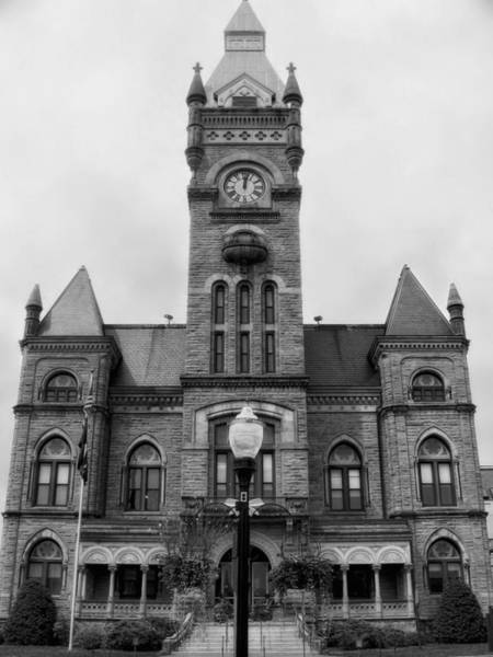 Courthouse Towers Wall Art - Photograph - Butler Country Courthouse Pennsylvania by Mountain Dreams
