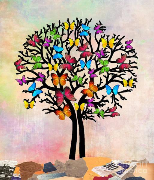 Wall Art - Digital Art - Butterfly by Mark Ashkenazi