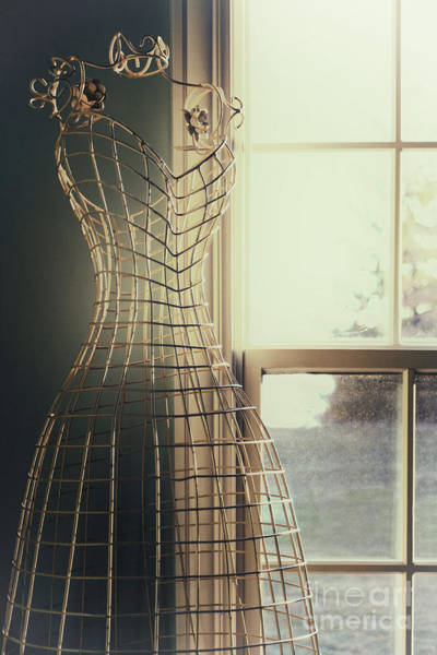 Dress Form Photograph - By The Window by Margie Hurwich
