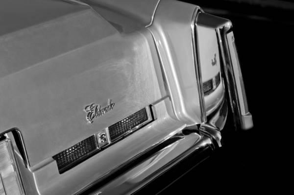 Eldorado Photograph - Cadillac Eldorado Taillights by Jill Reger