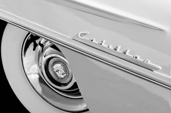 Photograph - Cadillac Wheel Emblem by Jill Reger