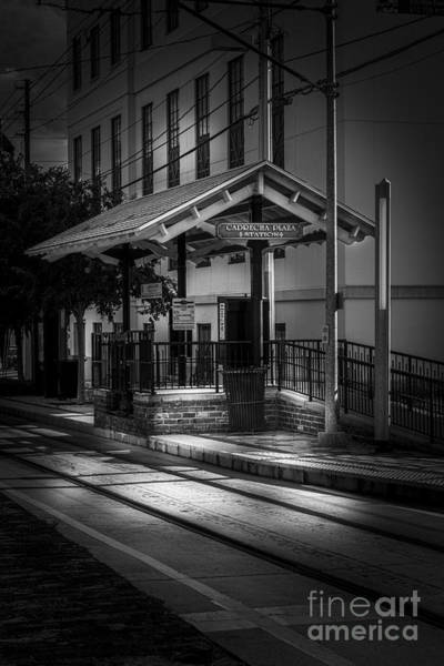 Trolley Car Wall Art - Photograph - Cadrecha Plaza Station by Marvin Spates