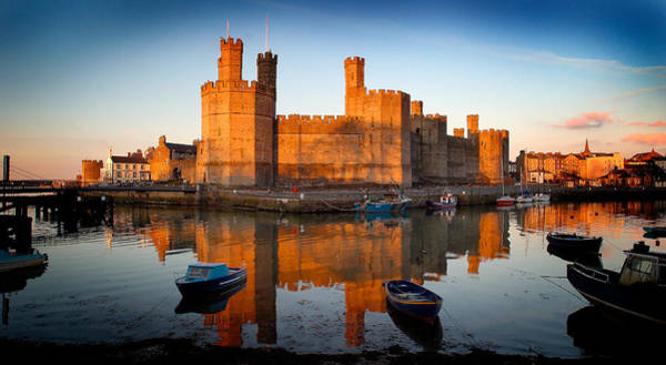 Photograph - Caernarfon Castle by Peter OReilly