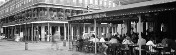 Leisurely Photograph - Cafe Du Monde French Quarter New by Panoramic Images