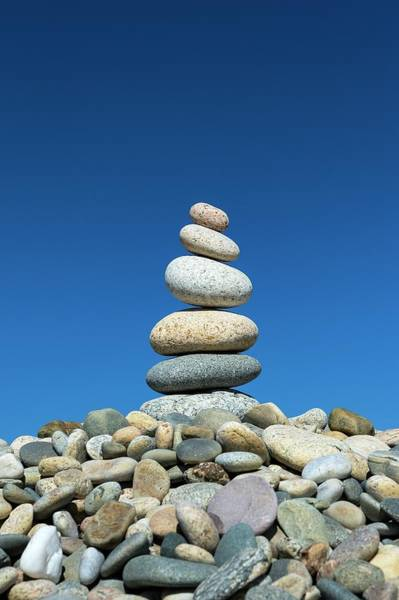 Weathering Photograph - Cairn by John Greim/science Photo Library