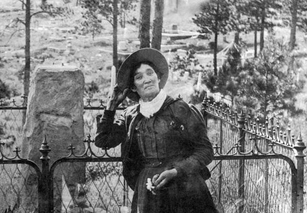 Wild Bill Hickock Photograph - Calamity Jane At Wild Bill Hickoks by Science Source
