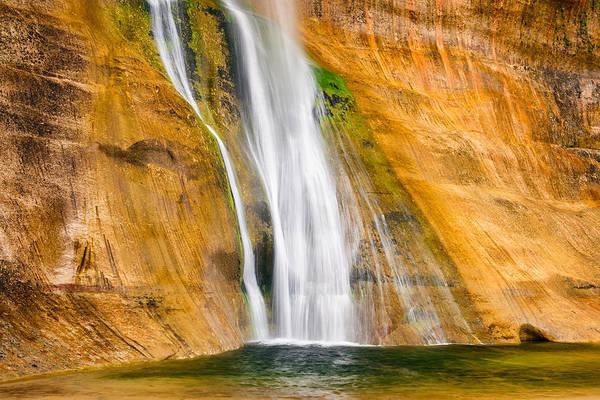 Photograph - Calf Creek Falls by Michael Blanchette