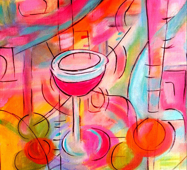 Painting - California Blush  by Nikki Dalton