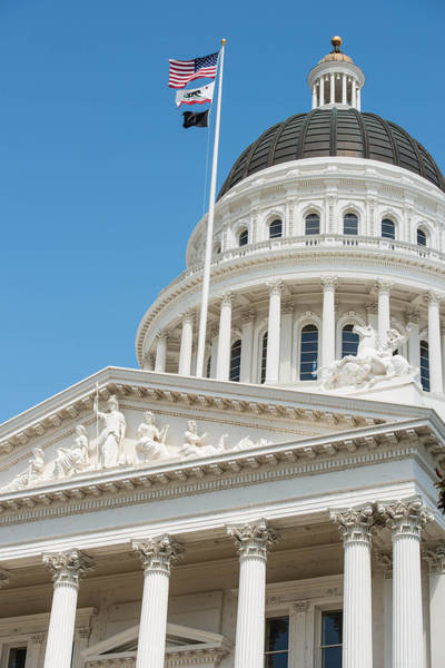 Photograph - California State Capitol In Sacramento by Brandon Bourdages