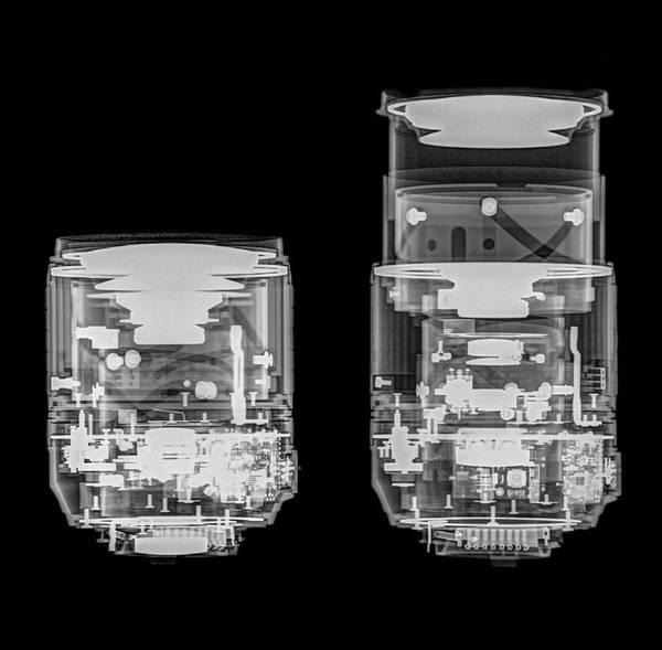 Optics Photograph - Camera Lens Under X-ray. by Photostock-israel
