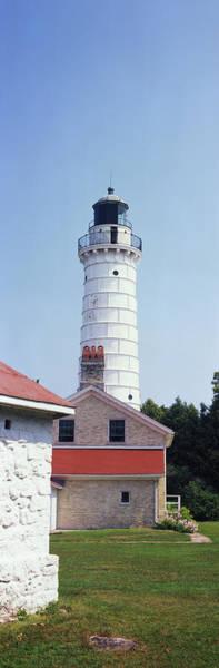 Cana Island Wall Art - Photograph - Cana Island Lighthouse, Baileys Harbor by Panoramic Images
