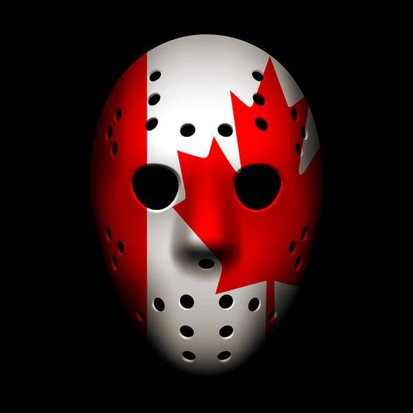 World Championship Photograph - Canada Goalie Mask by Joe Hamilton
