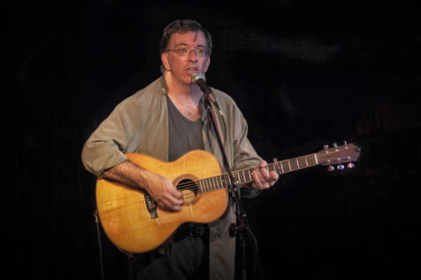 Photograph - Canadian Folk Singer James Keeglahan by Randall Nyhof
