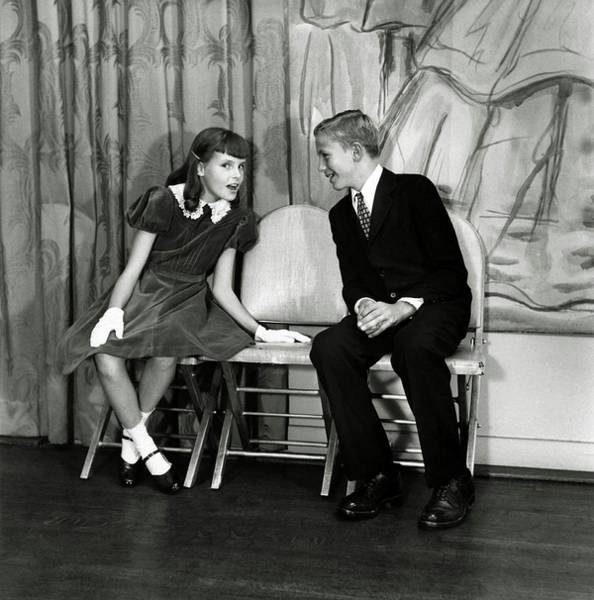 Pupil Photograph - Candida Mabon And William C. Breed At Dancing by Frances McLaughlin-Gill