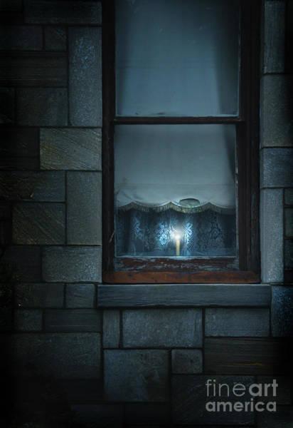 Wall Art - Photograph - Candle In The Window by Jill Battaglia