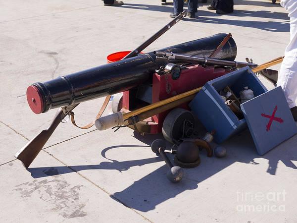 Photograph - San Diego Weaponry by Brenda Kean