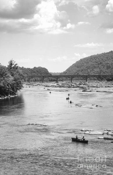 Photograph - Canoeing At Harpers Ferry by William Kuta