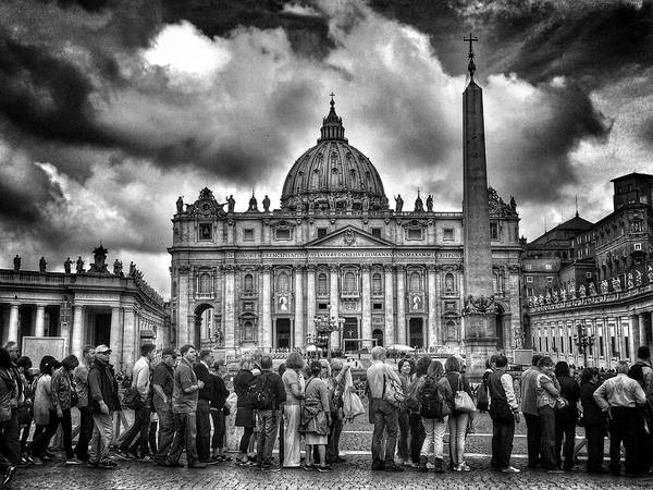Photograph - Canonisation Of Pope John Paul II And by Dan Kitwood