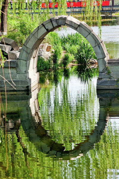 Forbidden City Photograph - Canqiao Ruined Bridge In Old Summer by William Perry