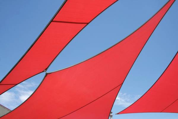 Wall Art - Photograph - Canvas Sails by Chris Martin-bahr/science Photo Library