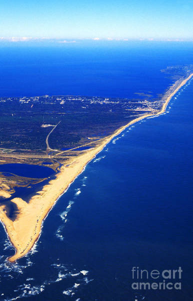 Photograph - Cape Hatteras National Seashore Aerial View by Thomas R Fletcher