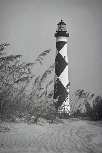 Photograph - Cape Lookout Lighthouse by Bob Decker