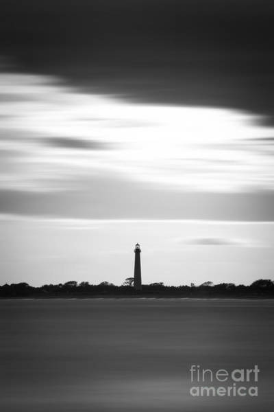 Cape May Lighthouse Photograph - Cape May Lighthouse Vertical Long Exposure by Michael Ver Sprill