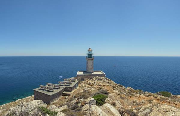 Peloponnese Photograph - Cape Tenaron Lighthouse by David Parker/science Photo Library