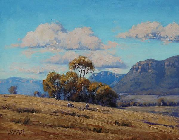 Australia Painting - Capertee Valley Australia by Graham Gercken