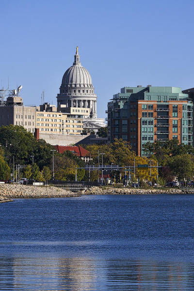 Photograph - Capitol - Madison - Wisconsin by Steven Ralser