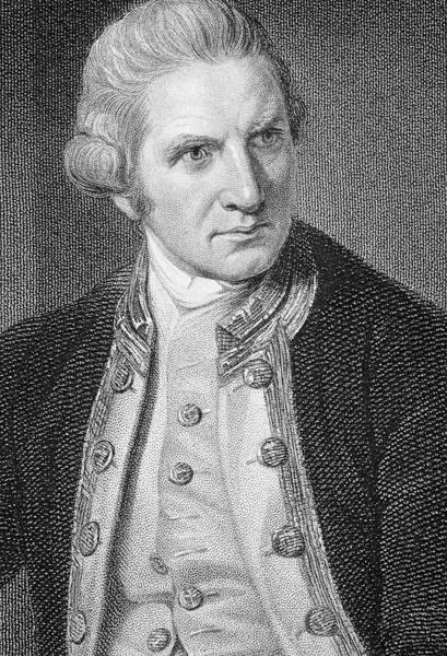 Cartography Photograph - Captain James Cook by George Bernard/science Photo Library