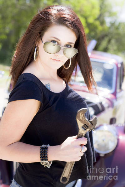 Photograph - Car Service by Jorgo Photography - Wall Art Gallery