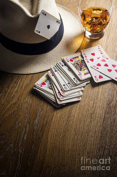 Wall Art - Photograph - Card Gambling by Carlos Caetano
