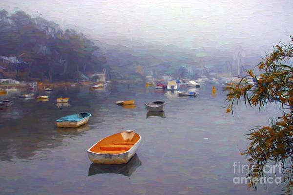 Wall Art - Photograph - Careel Bay Mist by Sheila Smart Fine Art Photography