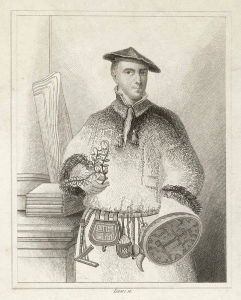 Wall Art - Drawing - Carl Von Linne, Ka Linnaeus  Swedish by Mary Evans Picture Library