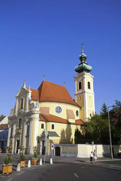 Danube Photograph - Carmelite Church In Gyor, Hungary by Martin Zwick