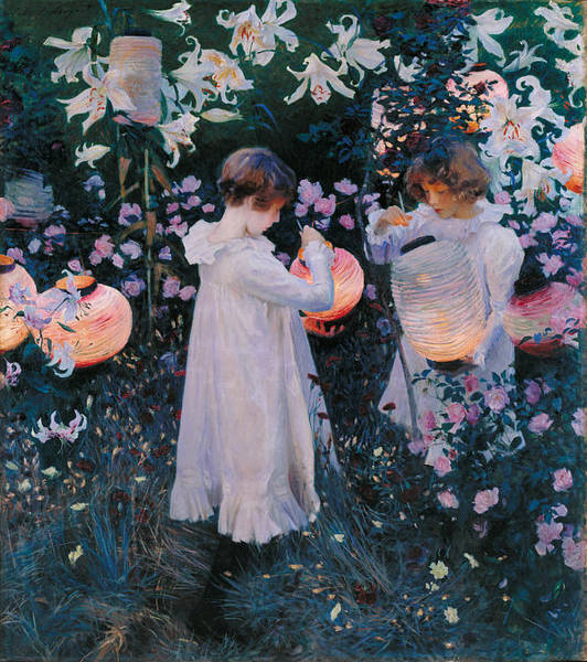 Wall Art - Painting - Carnation Lily Lily Rose by John Singer Sargent