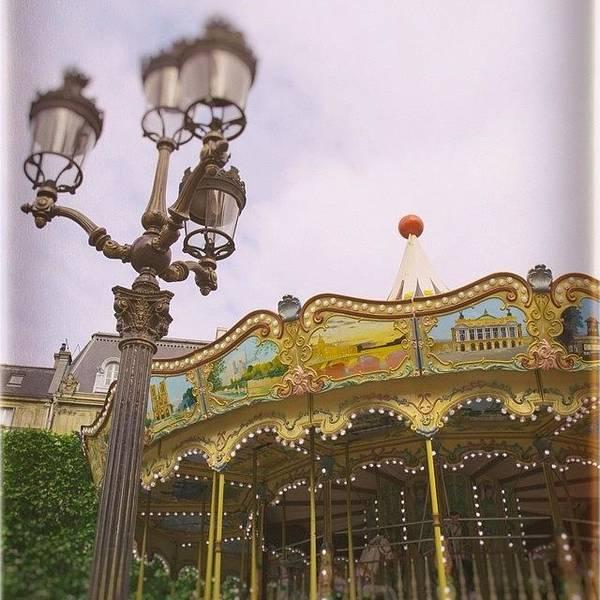 Romantic Wall Art - Photograph - Carousel Dreams by Georgia Fowler